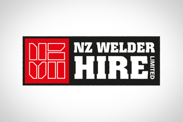 NZ Welder Hire logo identity