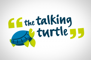 Sample of work done by tk:design for The Talking Turtle