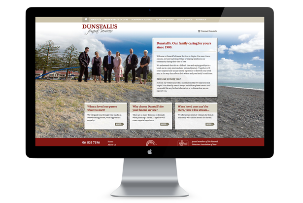 Dunstall's Website Home Page